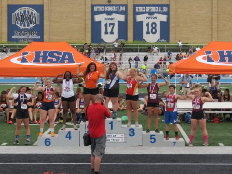 Girl's Track & Field States Their Claim