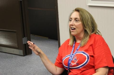 Principal Sandra Coughlin discusses her ideas.