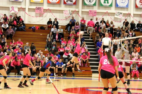 Varsity girls' volleyball digs its path to success