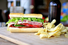 There are countless varieties of sandwiches available!