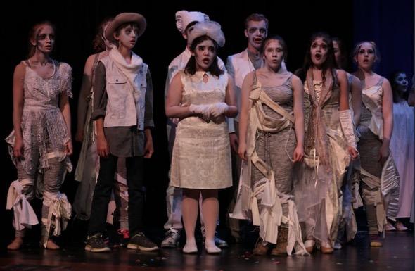 Glenbard South Performs The Addams Family