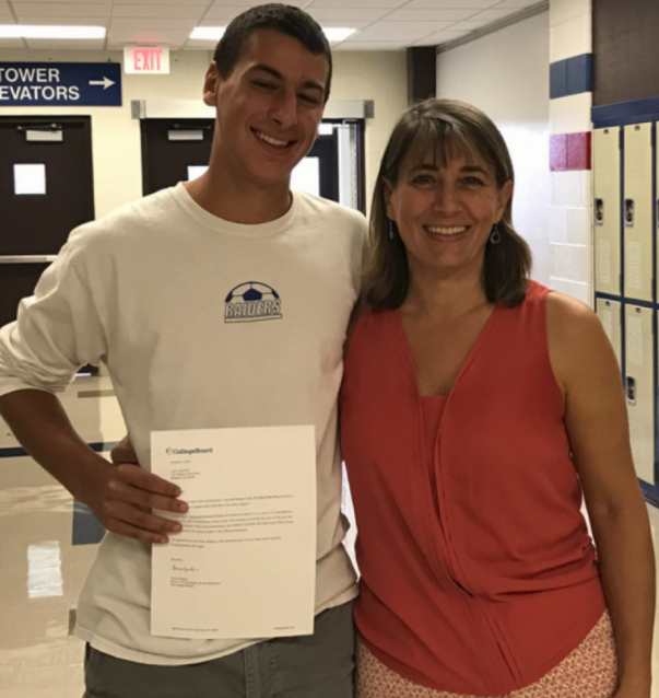 South student perfect on Advanced Placement test