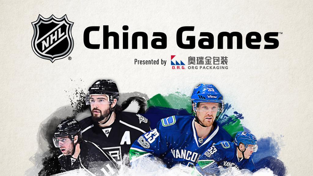 The NHL hits China