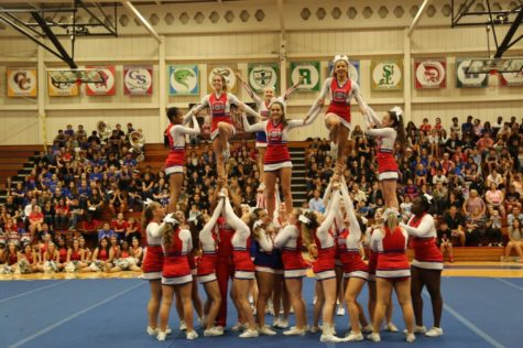 Glenbard South cheer takes on new season