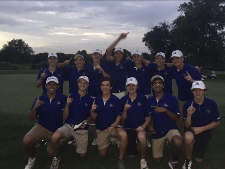 Boys golf goes undefeated
