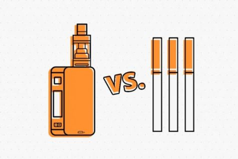 Vaping vs. Cigarettes