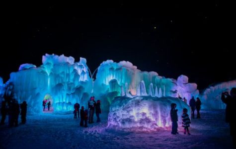 Lake Geneva ice castles
