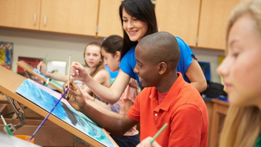 Sketchbook or textbook: arts integration in schools