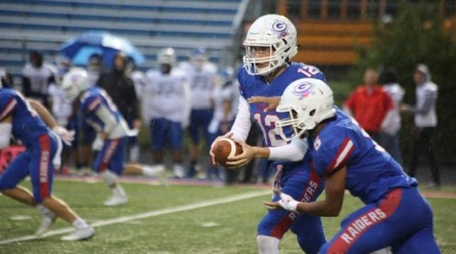 Senior quarterback Nick Plaso