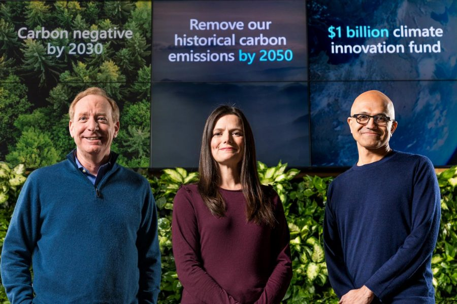 Microsoft going carbon negative