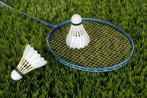 Glenbard South badminton team